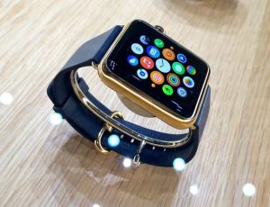 Apple watch gold