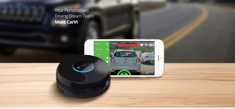 CarVi l'objet connecté malin pour la sécurité routière