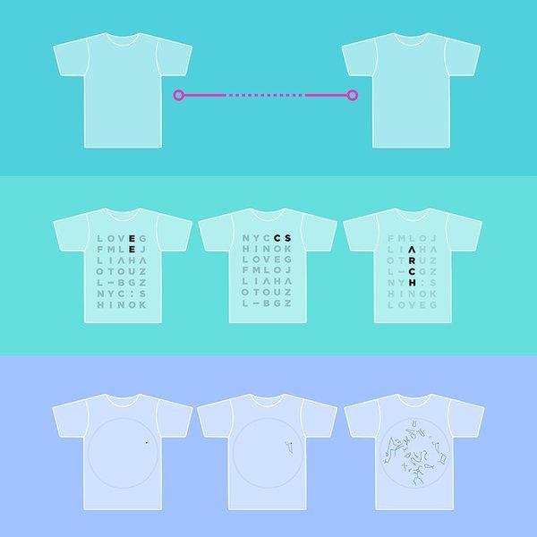 Des t-shirts connectés à vocations sociales