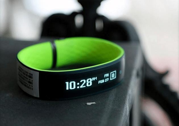 Le Grip Fitness, le bracelet connecté du Tawaïnais HTC
